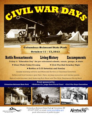 Columbus Belmont State Park Civil War Days